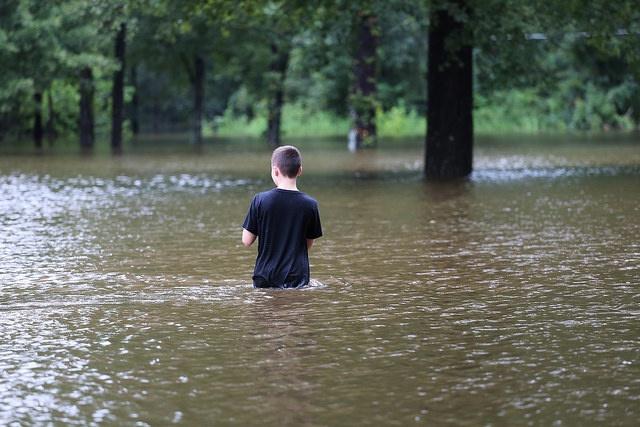 Hurricane Harvey Volunteering